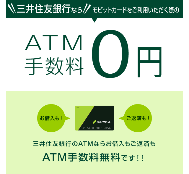 手数料 銀行 三井 住友 atm
